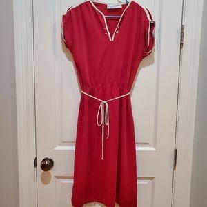 Vintage Leslie Fay Midi Dress